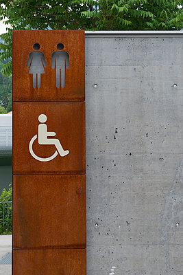 Public toilet - p300m1052934f by visual2020vision