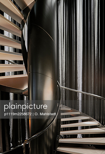 Spiral staircase - p1119m2258672 by O. Mahlstedt