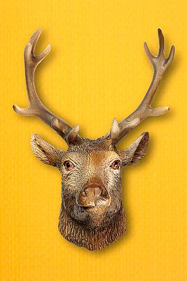 Hirsch aus Plastik - p4150250 von Tanja Luther