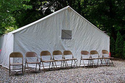 Meeting on the campground - p6550126 by Karen E. Evans