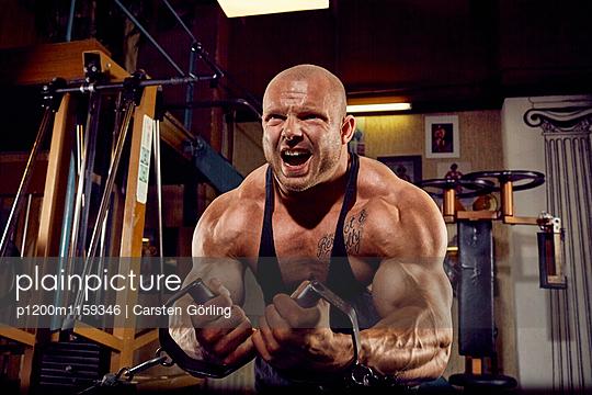 Bodybuilding - p1200m1159346 von Carsten Görling