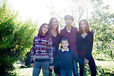 Familienportrait - p1308m1516555 von felice douglas