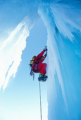 Ice climbing - p4691763 by Felix Oppenheim