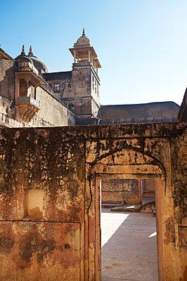 Festung in Jaipur - p1259m1111434 von J.-P. Westermann