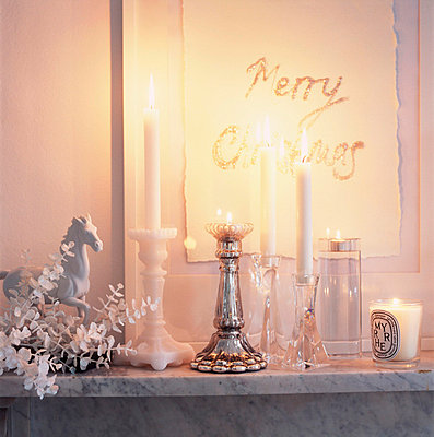 Fireplace mantel - p3492592 by Emma Lee
