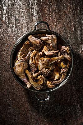 Chicken dish, Coq au vine - p947m1496852 by Cristopher Civitillo