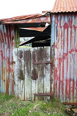 Corrugated iron - p1057m1122686 by Stephen Shepherd