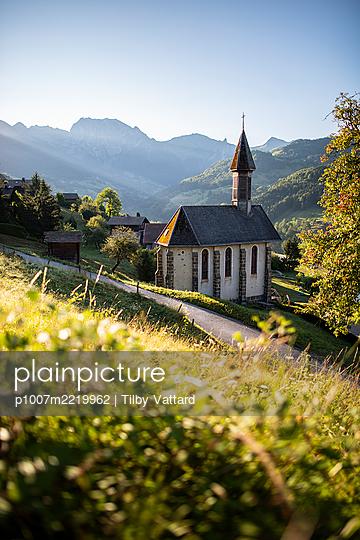 France, Manigod, Church - p1007m2219962 by Tilby Vattard