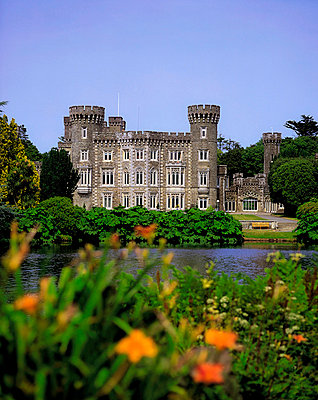 Johnstown Castle, Co Wexford, Ireland, 19th Century Gothic Revival - p4428868 by The Irish Image Collection