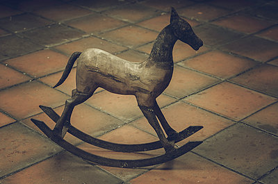 Rocking horse - p1459m1525792 by Zoe Space
