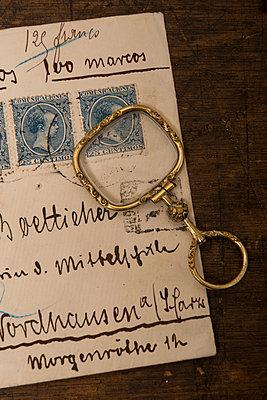 Old envelope - p451m889476 by Anja Weber-Decker