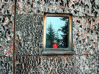 Fenster mit Spiegelung - p9792458 von Wirth