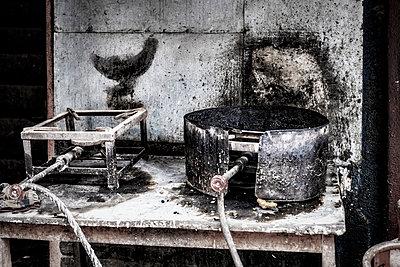 Straßenküche - p1243m1525091 von Archer