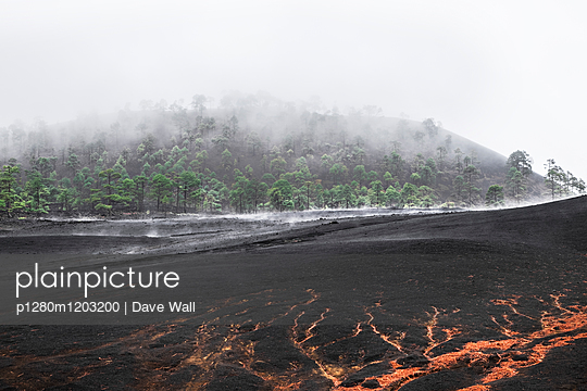 Volcanic landscape  - p1280m1203200 by Dave Wall
