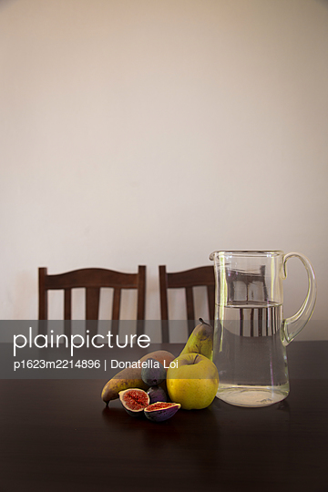 Still life and chairs - p1623m2214896 by Donatella Loi