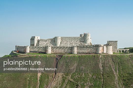Festung Krak des Chevaliers - p1493m2063993 von Alexander Mertsch