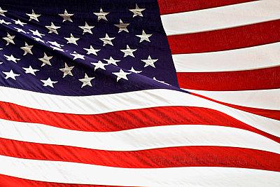 American flag - p4425535f by Design Pics
