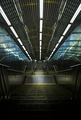 Escalator - p1280m1148508 by Dave Wall