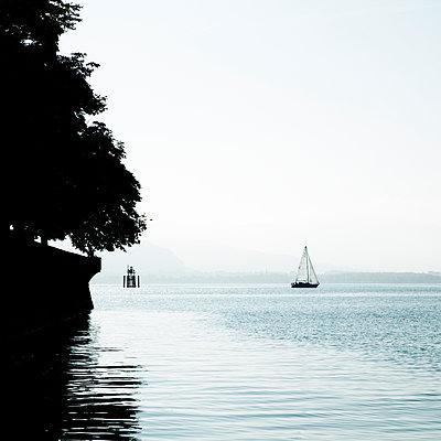 Segeln auf dem Bodensee - p415m952956 von Tanja Luther