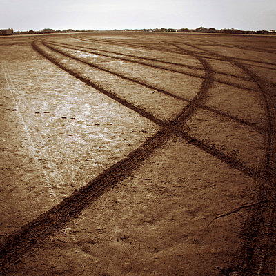Tire track - p5679617 by Claire Dorn