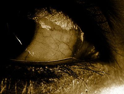 Nahaufnhame eines Auges - p9792850 von Zickert