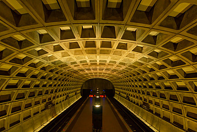 View of rail tunnel - p623m2165436 by Pablo Camacho