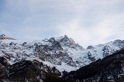 Schneebedeckte Alpen - p1046m1220975 von Moritz Küstner