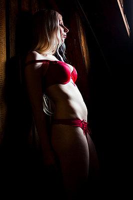 Wearing underwear - p4130406 by Tuomas Marttila