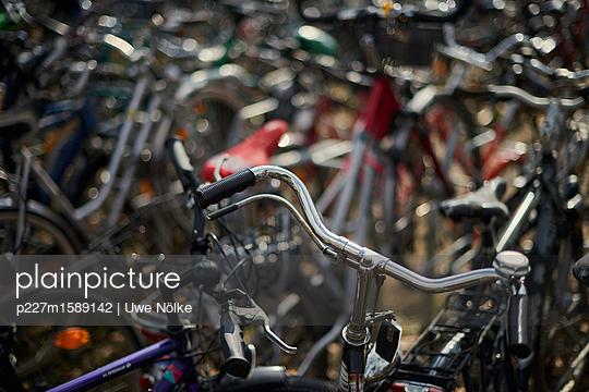 Fahrräder in Göttingen - p227m1589142 von Uwe Nölke