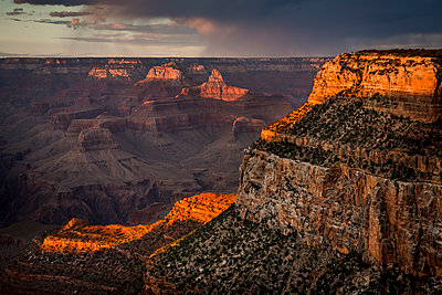 Grand Canyon at sunset - p1057m1466816 by Stephen Shepherd