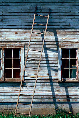 Old Peeling Building - p4340600f by Susan & Neil Silverman