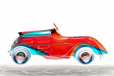 X-Ray-Car - p587m1466641 von Spitta + Hellwig