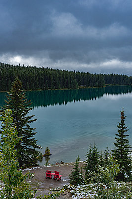 Two Jack Lake - p1455m2092371 by Ingmar Wein