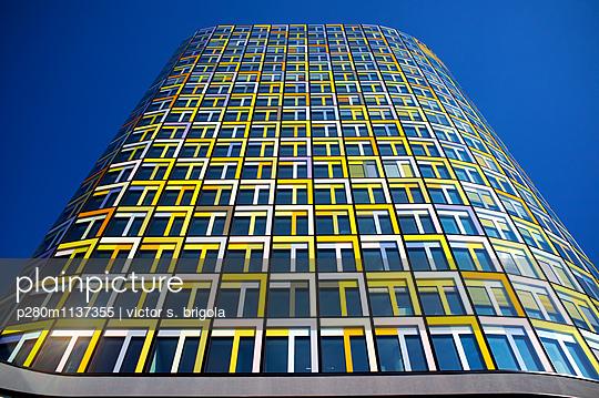 ADAC Zentrale in München Stern von Sendling - p280m1137355 von victor s. brigola