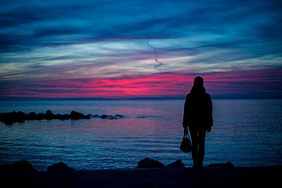 Sea view - p829m2295631 by Régis Domergue
