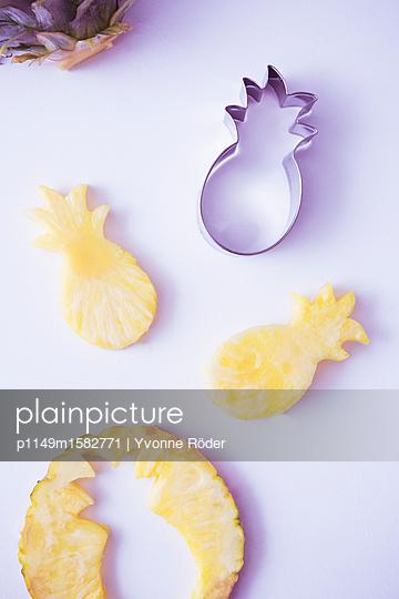 Ananas - p1149m1582771 von Yvonne Röder