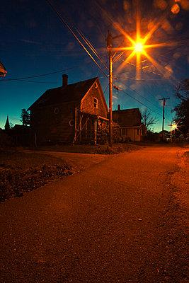 Straße bei Nacht - p3300442 von Harald Braun
