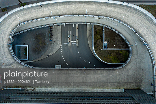 Switzerland, Zurich, Roof of the ZhDK University of arts  - p1332m2204621 by Tamboly