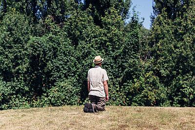 Ins Grüne gucken - p1085m987292 von David Carreno Hansen