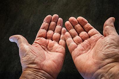 Outstretched hands - p1418m2158393 by Jan Håkan Dahlström
