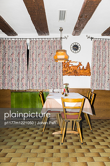 Old-fashioned guesthouse - p1177m1221050 by Philip Frowein