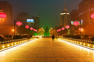 Road in xian - p9246183f by Image Source