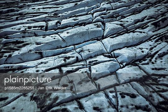Dark glacier - p1585m2285255 by Jan Erik Waider
