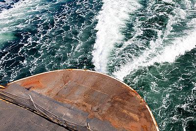 Commuter Ferry, Puget Sound, Washington - p1100m2090849 by Mint Images