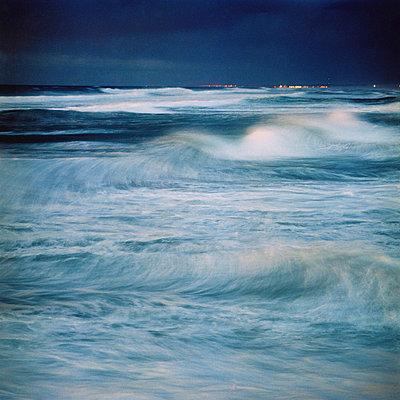 Sea disturbance - p567m720721 by Sandrine Agosti Navarri