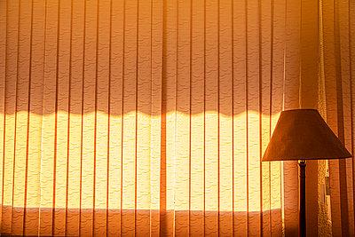 Vertical blind and lamp - p1484m2217599 by Céline Nieszawer