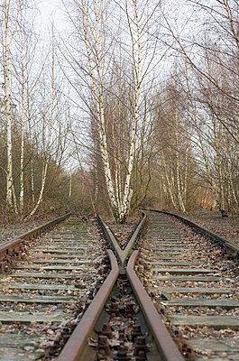 Bahnschienen - p2500396 von Christian Diehl