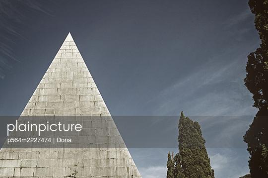 Pyramid mausoleum - p564m2227474 by Dona