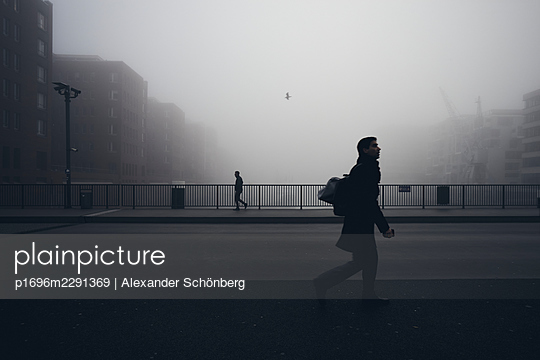 Early way to work - p1696m2291369 by Alexander Schönberg