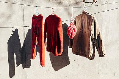 Drying Clothes - p1085m1064371 by David Carreno Hansen